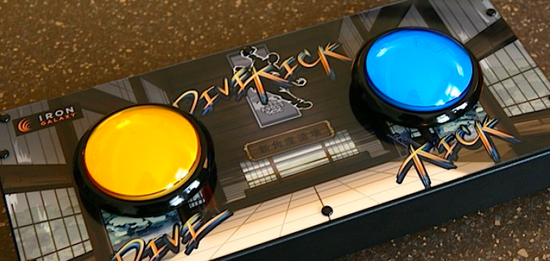 Official Divekick Controller